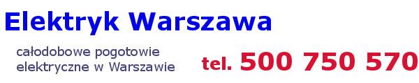 Elektryk Warszawa – usługi elektryczne
